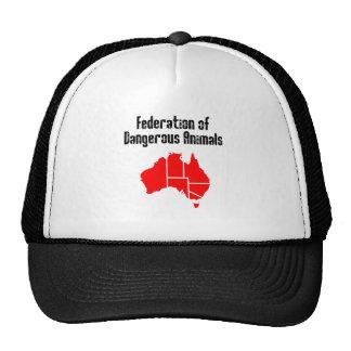 Federación de animales peligrosos gorra