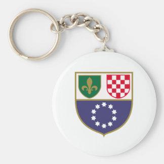 Federación de Bosnia y Herzegovina, de Bosnia y de Llavero Personalizado