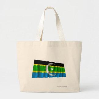 Federación de la bandera que agita del sur de bolsa tela grande