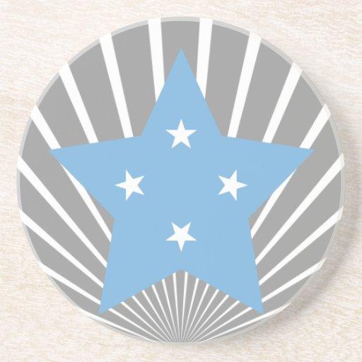 Federado+Estados+de+Estrella de Micronesia Posavaso Para Bebida