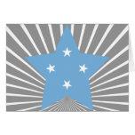 Federado+Estados+de+Estrella de Micronesia Tarjeta