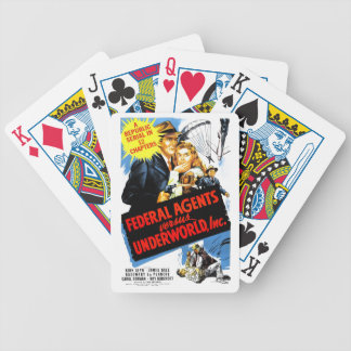 Federal Agents Vs. Underworld, Inc. Bicycle Playing Cards