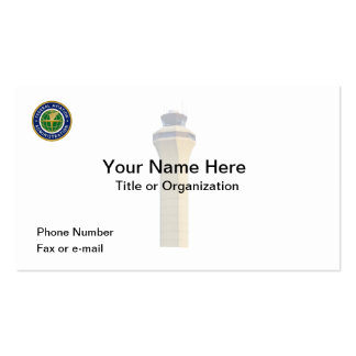Federal Aviation Administration Business Card