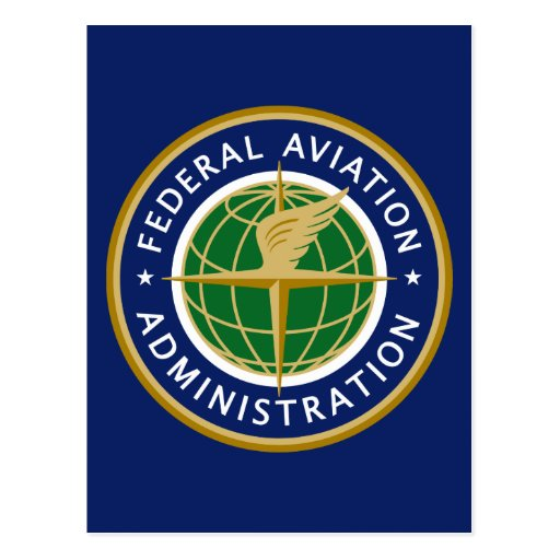 Federal Aviation Administration FAA Post Card