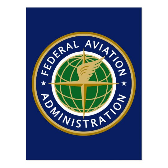 Federal Aviation Administration FAA Postcard