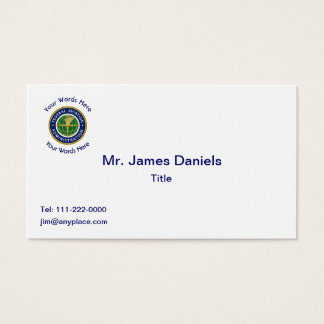Federal Aviation Administration Shield Business Card