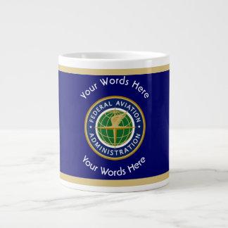 Federal Aviation Administration Shield Large Coffee Mug