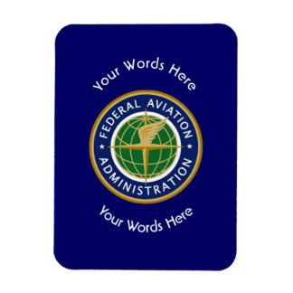 Federal Aviation Administration Shield Magnet
