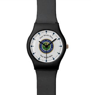 Federal Aviation Administration Shield Wristwatch