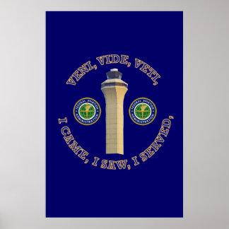 Federal Aviation Administration VVV Shield Poster