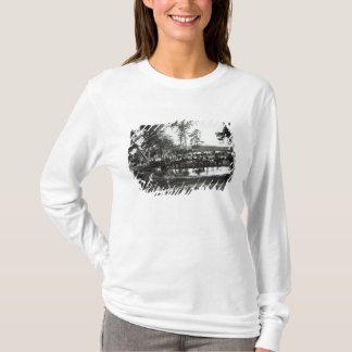 Federal battery fording a tributary on battle T-Shirt