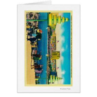 Federal Building and Lakes of the Nations Greeting Card