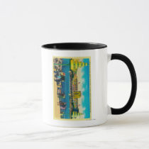 Federal Building and Lakes of the Nations Mug