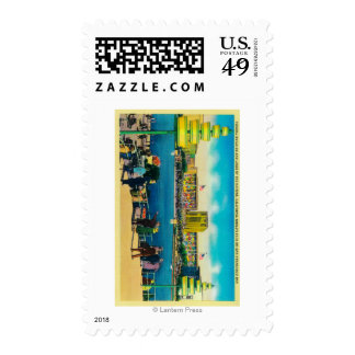 Federal Building and Lakes of the Nations Stamps