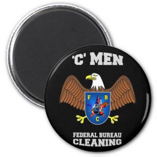 FEDERAL BUREAU of CLEANING  (FBC) Magnet