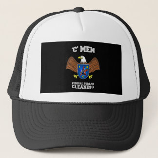 FEDERAL BUREAU of CLEANING  (FBC) Trucker Hat
