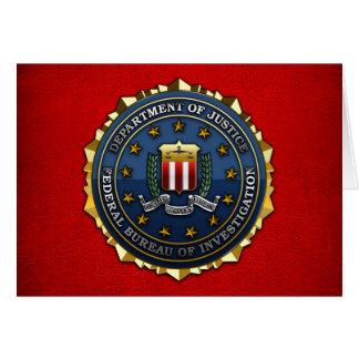 Federal Bureau of Investigation Greeting Cards