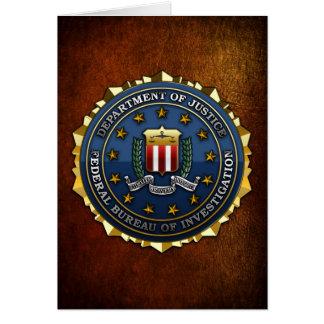 Federal Bureau of Investigation Card