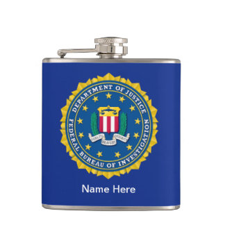 Federal Bureau of Investigation Hip Flask