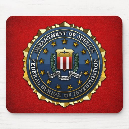 Federal Bureau of Investigation Mousepad