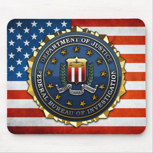Federal Bureau of Investigation Mouse Pads