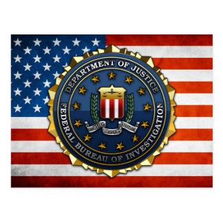 Federal Bureau of Investigation Postcard