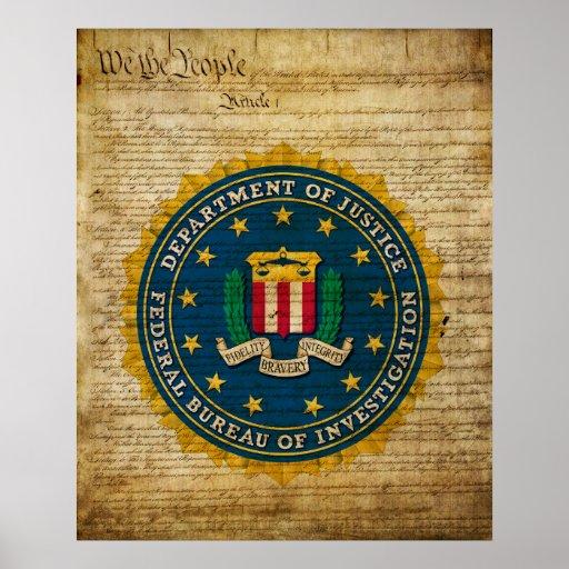 Federal Bureau of Investigation Print