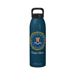 Federal Bureau of Investigation Water Bottle