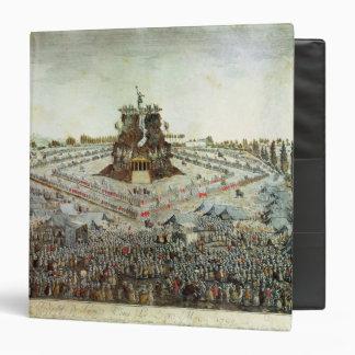 Federal Camp at Lyon, 30th May 1790 3 Ring Binder