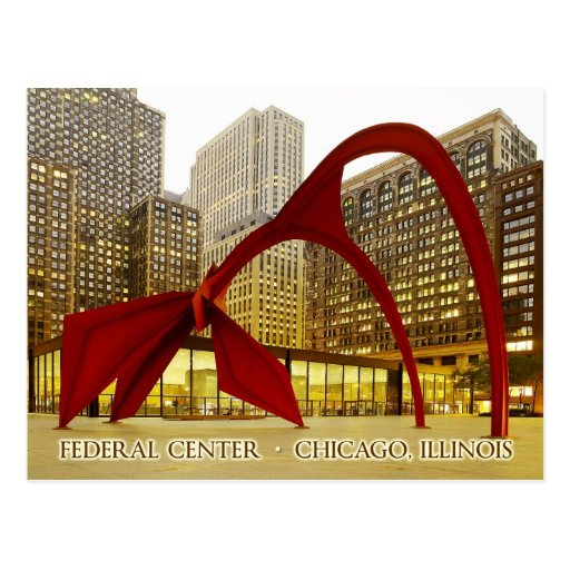 Federal Center Plaza, Chicago, Illinois Postcards