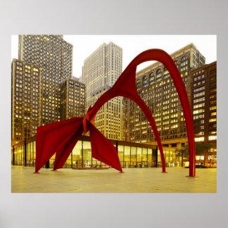 Federal Center Plaza, Chicago, Illinois Poster