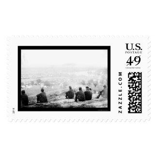 Federal Encampment on the Pamunkey River, VA 1862 Postage