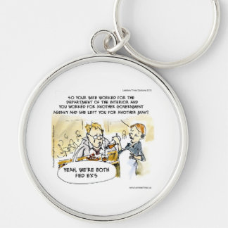 Federal Ex Spouse Funny Keychain