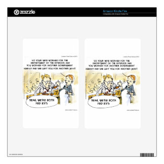 Federal Ex Spouse Funny Skins For Kindle Fire