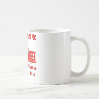 Federal Government Says Trust Me Coffee Mug