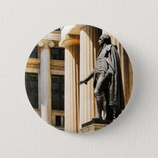 Federal Hall, NYC Button