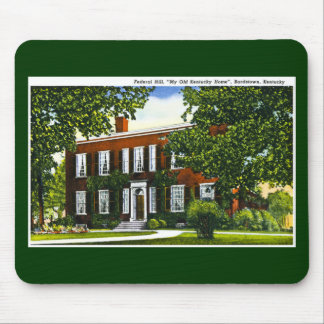 Federal Hill, Bardstown, Kentucky Mouse Pad