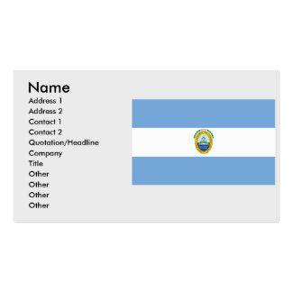 Federal Republic Central America, Costa Rica Business Card