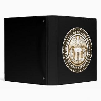 Federal Reserve 3 Ring Binder