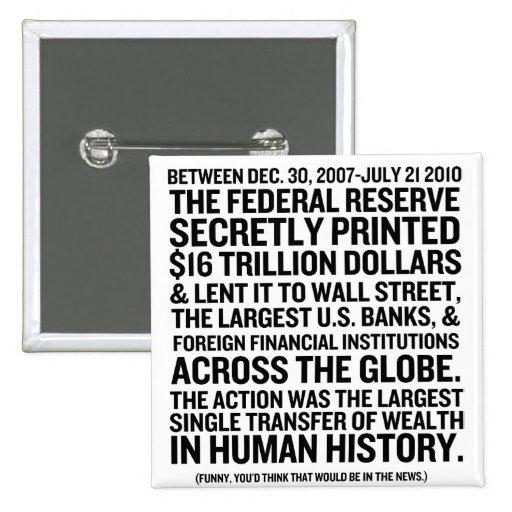 Federal Reserve Audit Pins
