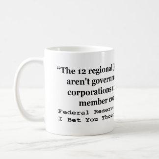 Federal Reserve Banks Aren't Government Mug