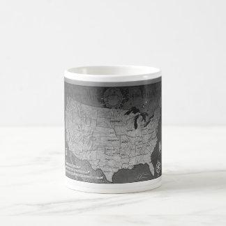 Federal Reserve Building Map Mug