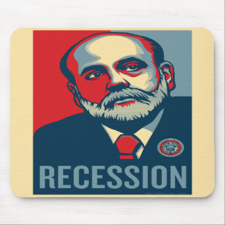 Federal Reserve Chair Ben Bernanke Mousepad