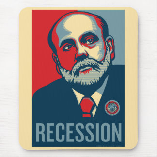 Federal Reserve Chair Ben Bernanke Mousepad
