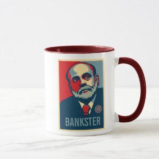 Federal Reserve Chair Ben Bernanke Mug
