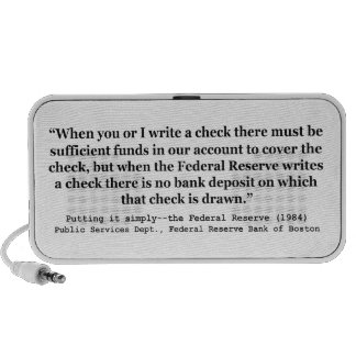 Federal Reserve Creates Money Putting It Simply Travel Speakers