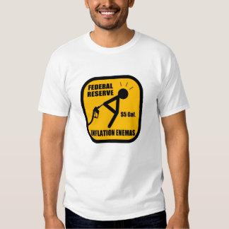 Federal Reserve Inflation Enemas T-Shirt