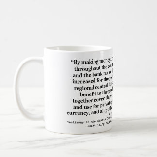 Federal Reserve Interest Rates by Alfred O Crozier Mug