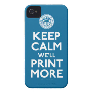 Federal Reserve Keep Calm Parody Case iPhone 4 Cover