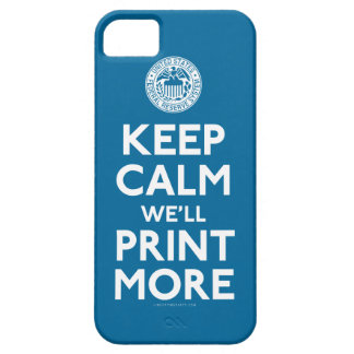 Federal Reserve Keep Calm Parody Case iPhone 5 Cover